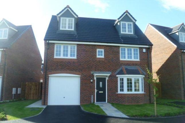 Thumbnail Detached house to rent in Wesham Park Drive, Wesham, Preston