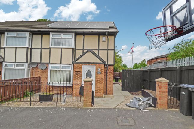 Thumbnail Semi-detached house for sale in Bruntons Manor Court, Middlesbrough