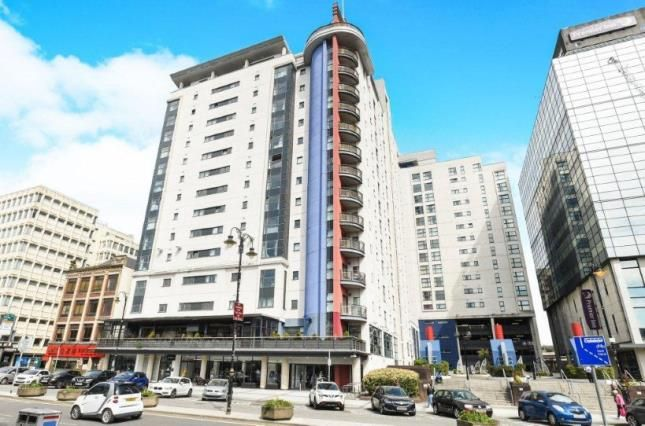 Thumbnail Flat for sale in Landmark Place, Churchill Way, Cardiff
