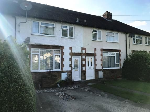 Thumbnail Terraced house for sale in Park Drive, Baldock, Hertfordshire, England