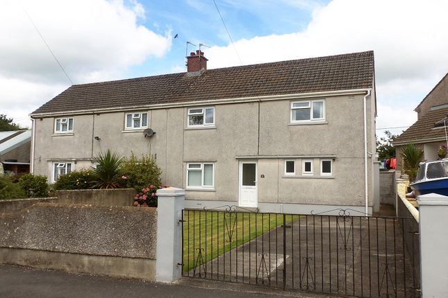 Thumbnail Semi-detached house to rent in Bryngwenllian, Whitland, Carmarthenshire.