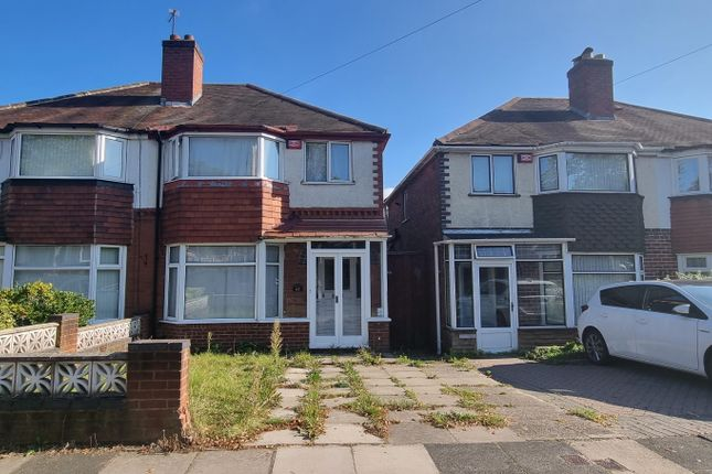 Thumbnail Semi-detached house to rent in Turnberry Road, Great Barr, Birmingham