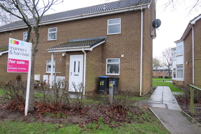 Thumbnail Flat for sale in Coris Close, Marton-In-Cleveland, Middlesbrough