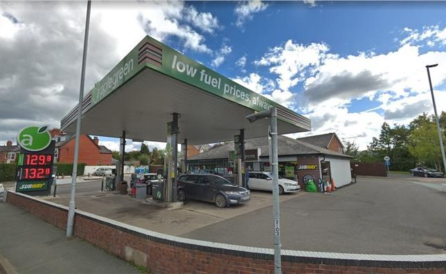 Thumbnail Retail premises for sale in Investment Opportunity, Welshpool Service Station, Salop Road, Welshpool, Powys