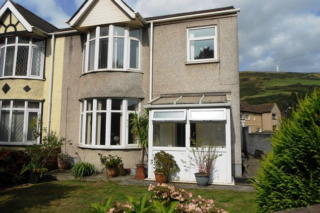 Thumbnail Semi-detached house to rent in Beechwood Road, Port Talbot, Neath Port Talbot.