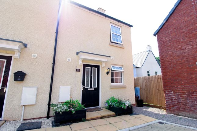 Thumbnail End terrace house for sale in Cilgant Ceinwen, Pontrhydyrun, Cwmbran