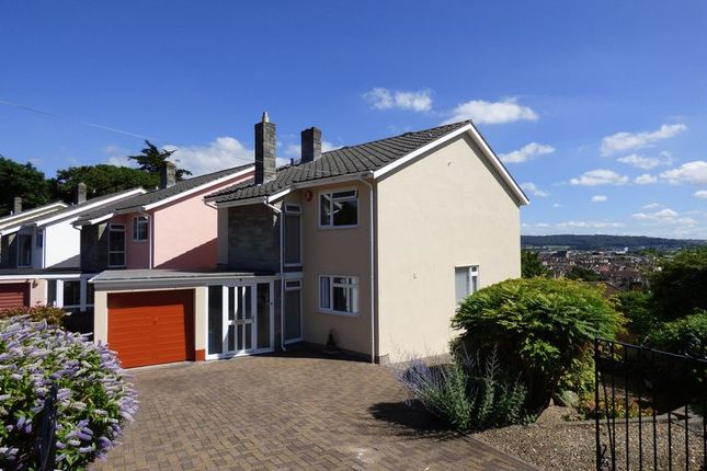 Thumbnail Detached house for sale in Trewartha Close, Weston-Super-Mare