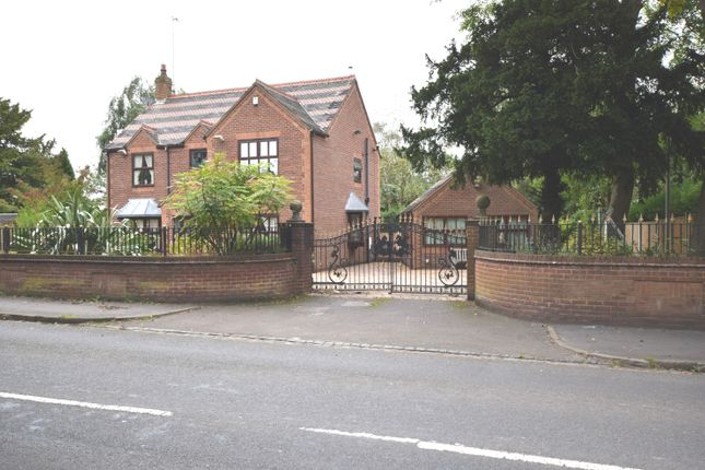 Thumbnail Detached house for sale in Keele Road, Newcastle-Under-Lyme
