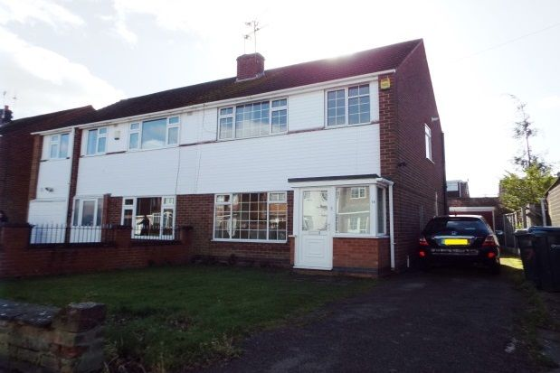 Thumbnail Semi-detached house to rent in Babbacombe Road, Finham