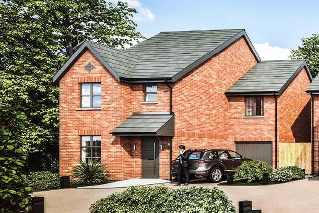 Thumbnail Detached house for sale in Plot 1, Eccleshall Road, Loggerheads, Shropshire