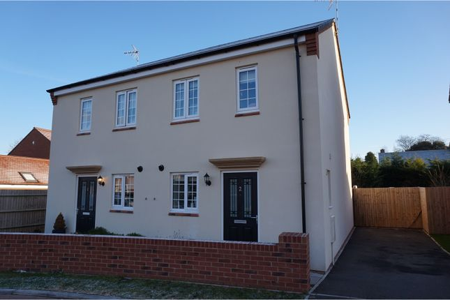 Thumbnail Semi-detached house for sale in Gaskell Way, Barford