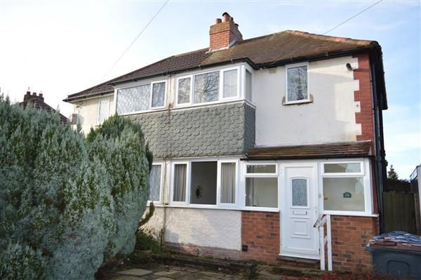 Thumbnail Semi-detached house for sale in Atlantic Road, Great Barr, Birmingham