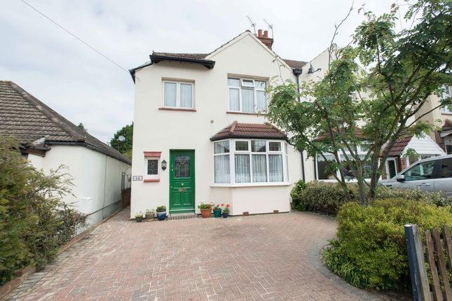 Thumbnail Semi-detached house for sale in Longlands Park Crescent, Sidcup