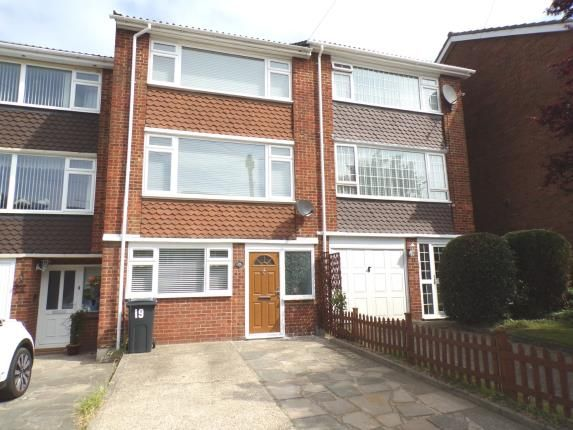Thumbnail Terraced house for sale in Copperfield Gardens, Brentwood