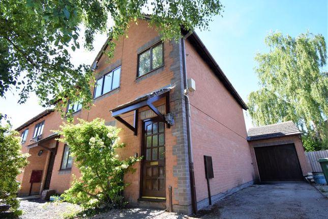 Thumbnail End terrace house to rent in Lambourn Drive, Bicton Heath, Shrewsbury