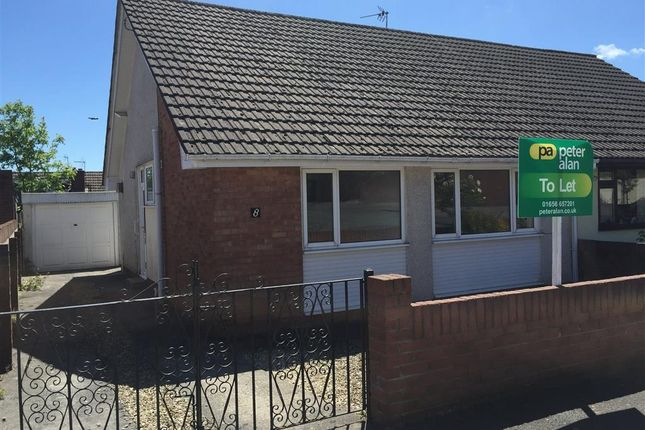 Thumbnail Bungalow to rent in Lindsay Close, Pencoed, Bridgend
