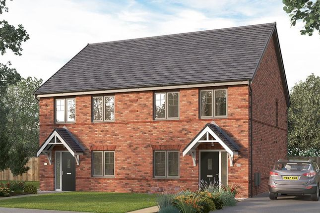 "Thumbnail Semi-detached house for sale in ""The Lorton"" at Pennyfine Road, Sunniside, Newcastle Upon Tyne"