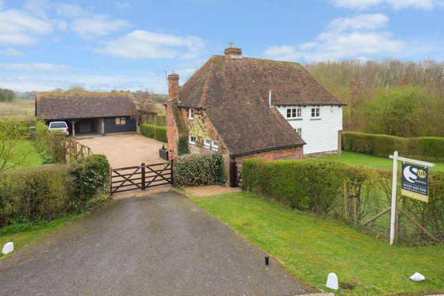 Thumbnail Detached house for sale in Highfield Lane, Sevington, Ashford
