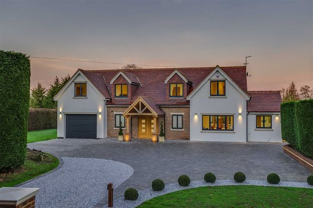Thumbnail Detached house for sale in Epping Green, Hertford