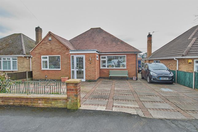 Thumbnail Detached bungalow for sale in Forresters Road, Burbage, Hinckley