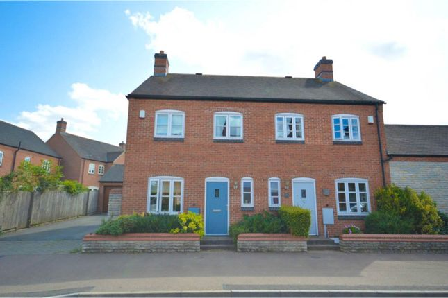 Thumbnail Semi-detached house for sale in Barton Road, Congerstone