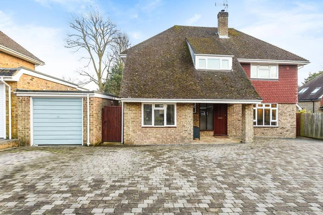 Thumbnail Detached house for sale in Lydele Close, Horsell