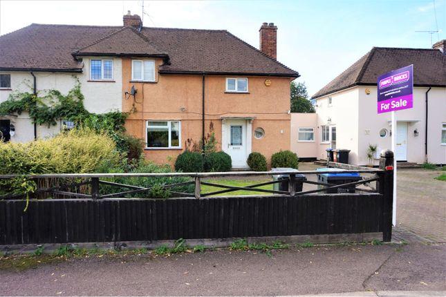 Thumbnail Semi-detached house for sale in Maran Avenue, Welwyn