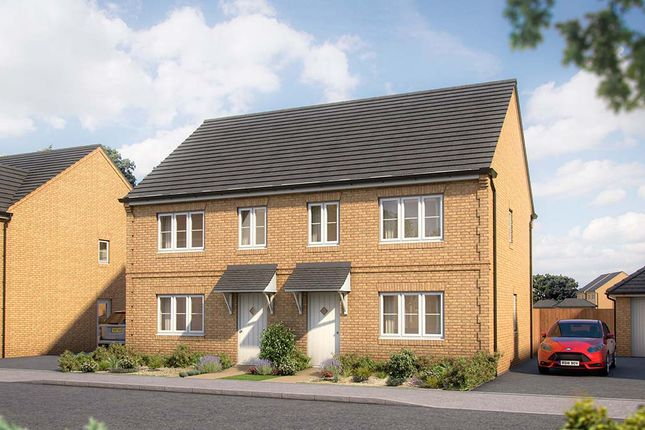 """3 bed property for sale in """"The Hazel"""" at Gidding Road, Sawtry, Huntingdon PE28"""