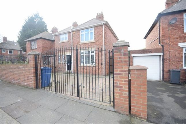 Thumbnail Semi-detached house to rent in Sunderland Road, South Shields
