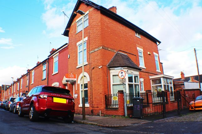 Thumbnail End terrace house for sale in Halstead Street, Leicester