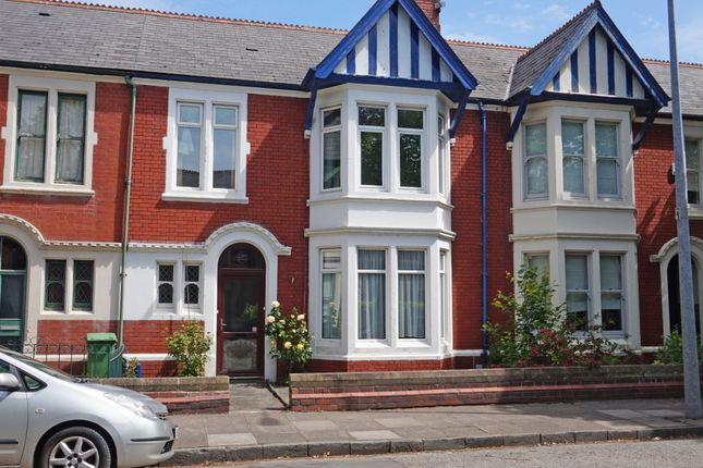 Thumbnail Terraced house for sale in Marlborough Road, Roath, Cardiff