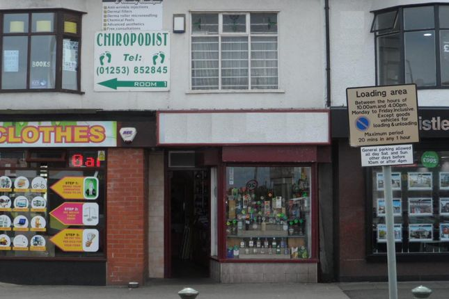 Retail premises for sale in Victoria Road West, Cleveleys