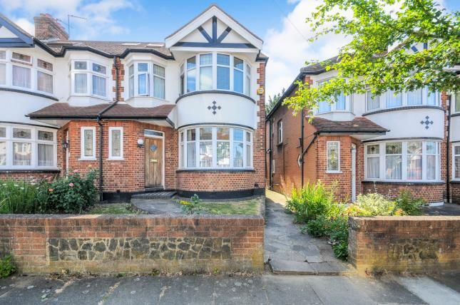 Thumbnail End terrace house for sale in Brendon Way, Enfield, London