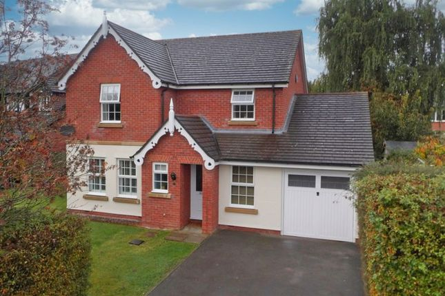 Thumbnail Detached house for sale in Edmund Wright Way, Nantwich, Cheshire
