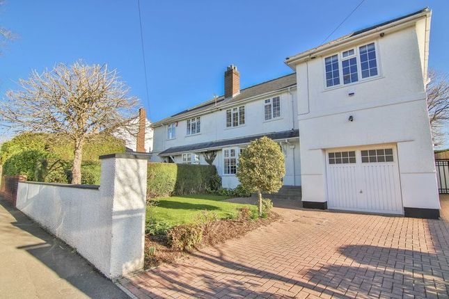 Thumbnail Semi-detached house for sale in Mill Road, Lisvane, Cardiff