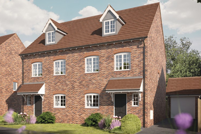 Thumbnail Semi-detached house for sale in Cooks Lane, North Solihull
