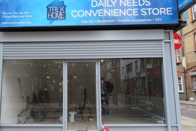 Thumbnail Retail premises to let in Brick Lane, London