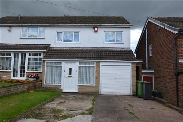 Thumbnail Semi-detached house to rent in Dunbar Grove, Great Barr, Birmingham