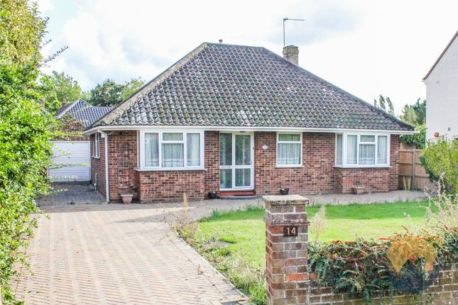 Thumbnail Detached bungalow for sale in Keswick Close, Cringleford