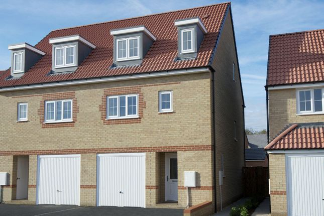 "Thumbnail Semi-detached house for sale in ""Wetherby"" at Laughton Road, Thurcroft, Rotherham"