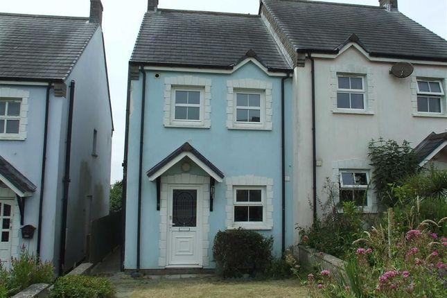 Semi-detached house for sale in Clos Sant Cenydd, Llangennith, Swansea