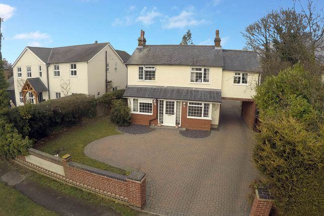 Thumbnail Detached house for sale in Ipswich Road, Brantham, Manningtree, Essex