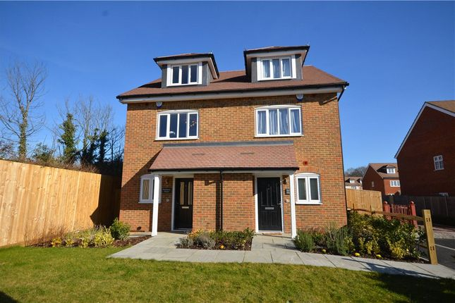 Thumbnail Semi-detached house for sale in Onslow Place, Bisley, Woking