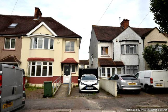 Thumbnail Semi-detached house to rent in Norton Road, Wembley