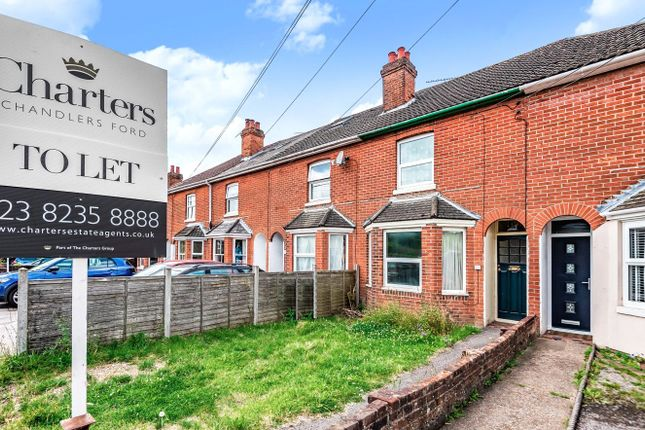2 bed terraced house to rent in Bournemouth Road, Chandler's Ford, Eastleigh, Hampshire SO53
