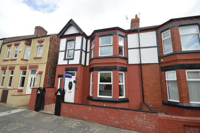 Thumbnail Semi-detached house for sale in Shiel Road, New Brighton, Wallasey