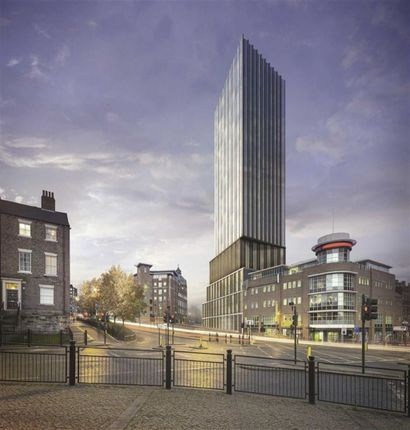 Thumbnail Flat for sale in Hadrian's Tower, City Centre