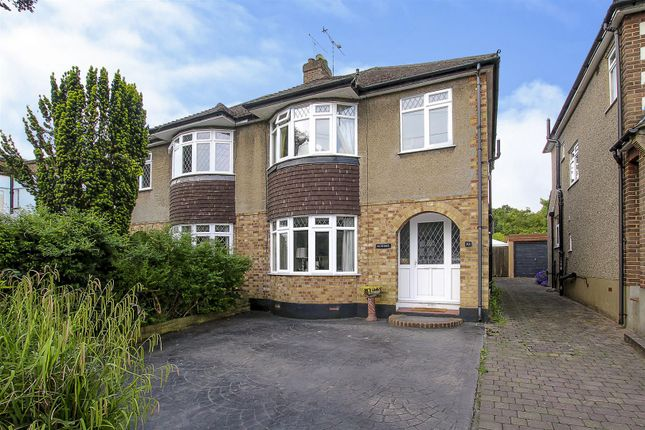 Thumbnail Semi-detached house for sale in Shenfield Crescent, Brentwood