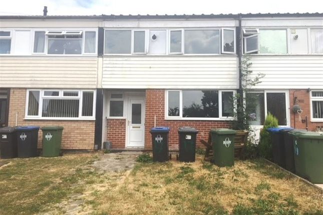 Thumbnail Terraced house to rent in Lea Crescent, Newbold, Rugby
