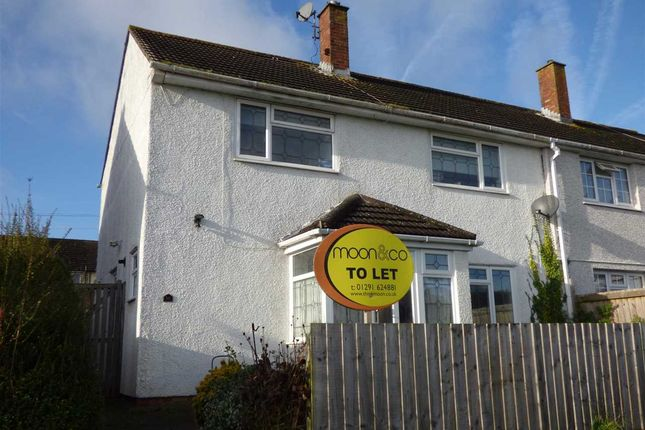 Thumbnail Semi-detached house to rent in Somerset Way, Bulwark, Chepstow